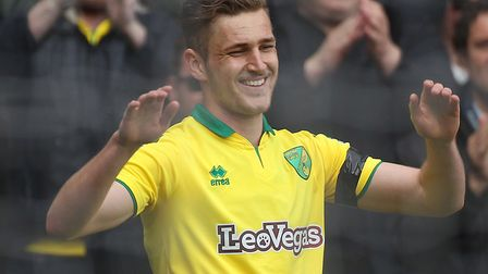 Dennis Srbeny scored his first Norwich City goal in a 3-1 Championship win over Aston Villa. Picture