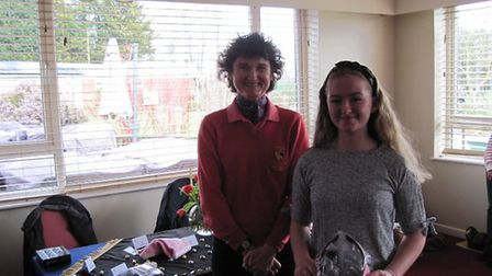 Maisy Beales with County Captain Sammy Martin. Picture: SHELAGH RUMP