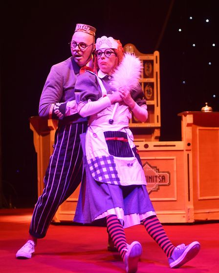 Moscow State Circus at Norfolk Showground.Picture: ANTONY KELLY