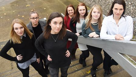The team behind the EDP's women's edition. Picture: Ian Burt