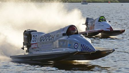 LOBMBC powerboat racing on Oulton Broad returns. Birnie Power. Pictures: Paul Breach