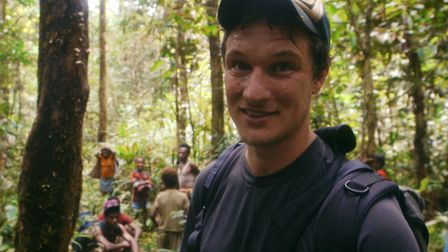 Will Millard in My Year with the Tribe on BBC2. Picture: KEO Films