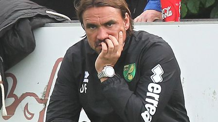 Daniel Farke took four points from his two derby tussles with Mick McCarthy. Picture:Paul Chesterto