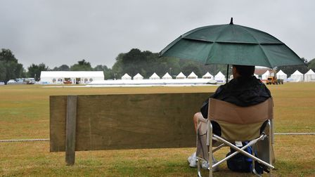 Rain has caused havoc for grounsdmen, prompting a postponement of the start of the East Anglian Prem