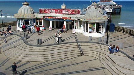 Cromer Pier. Picture: JANET ANGLES