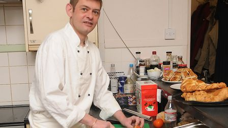 Francis Bone, the new kitchen manager at the Purfleet Trust. Picture: Chris Bishop