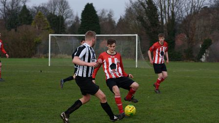 Heigham Park Rangers, linked to St Thomas' Church on Earlham Road, takes on Kay Street Baptist FC in