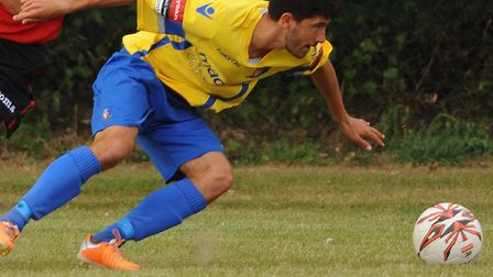Matt Brown is a doubt for Norwich United's trip to Barking. Picture: DENISE BRADLEY