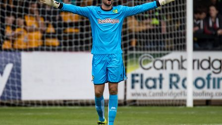 The door is open for Remi Matthews to take over as Norwich City number one. Picture: Liam McAvoy/Foc