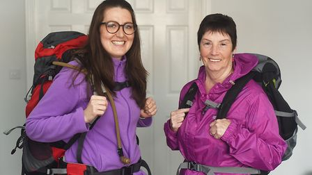 Janay Gibbons (27) and her grandmother Ann (70) will be embarking on a 500-mile tek across Spain to