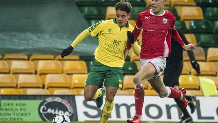 Right-back Max Aarons has made a strong reputation for himself while featuring for Norwich City's Un