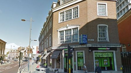 The former site of the Boar's Head on Surrey Street. Picture: Google