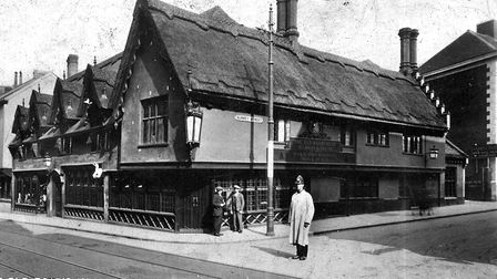 SUBMITTED PICTURE OF THE OLD BOAR'S HEAD, SURREY STREET. NORWICH.