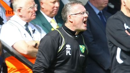 Former Norwich manager Paul Lambert was unable to keep Stoke City in the Premier League. Picture: Pa