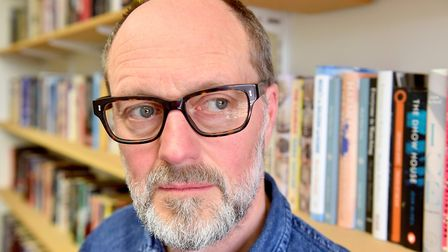 Feature on Norwich-based author Henry Sutton who has a new crime novel coming out, Red Hot Front, se