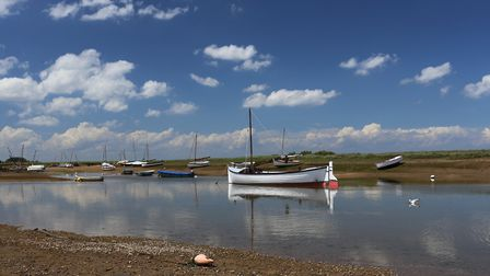 Burnham Overy Staithe, north Norfolk, where house prices have outstripped wages. Pic: www.gettyimage