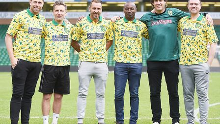 A Norwich City legends side are hosting Inter Milan on May 20th at Carrow Road, in aid of the Commun