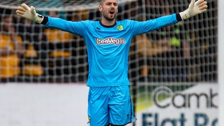 Remi Matthews is now in pole position to be Norwich City's new number one. Picture: Liam McAvoy/Focu