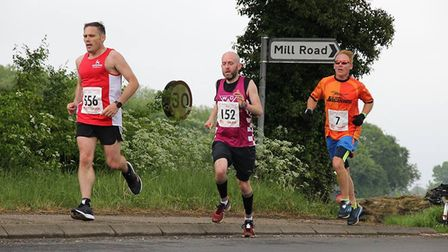 Action from th Dereham 10m race. Picture: Aaron Protheroe