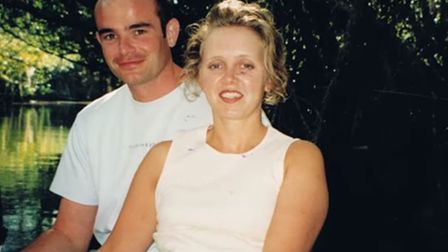 Mandy Hathway suffered a stroke aged just 20. . Pictured with husband Ben. Photo: Headway Norfolk an