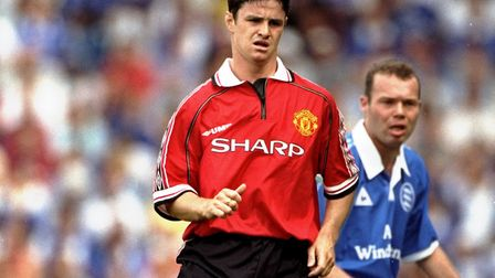 Phil Mulryne made five appearances for Manchester United before joining Norwich City in 1999. Pictur
