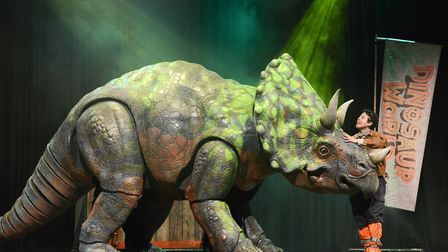 Dinosaur World is among the new shows announced for Norwich Theatre Royal.Photo: supplied by Norwich