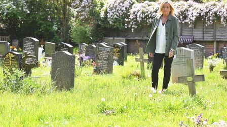 Tracey Bullen is unhappy with the state of the Thorpe St Andrew graveyard where her dad is burried.P