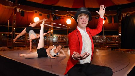 The search for a young ringmaster to provide the voice for The Garage and All-In Productions' show M