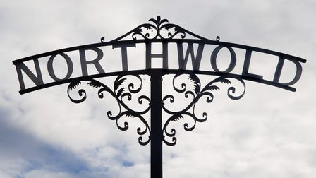 The Northwold sign. Picture: Ian Burt