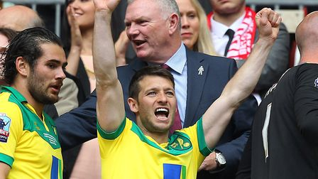 Wes Hoolahan makes his final Norwich City appearance on Saturday. Picture: Paul Chesterton/Focus Ima