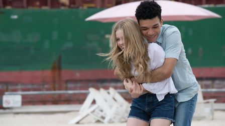 Angourie Rice as Rhiannon and Justice Smith as Justin in Every Day. Photo: Vertigo Releasing/Peter H