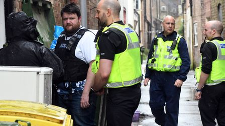 Four arrests have been made in operation Cippus police storm drugs factory in Wisbech. PHOTO: Ian C