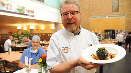 The Norfolk and Norwich University Hospital will be serving up a special menu for Norfolk Day. Pictu