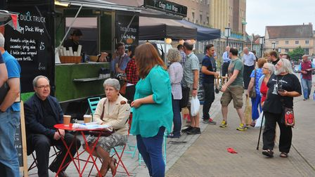 File photo of a Feast on the Street event in Norwich. Photo: Steve Adams