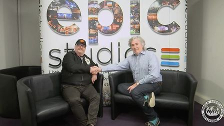 Ricky Knight (left) founder of WAW and Jonathan Thursby (right) owner of Epic Studios have resolved