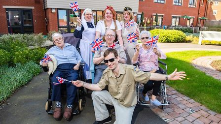 Cringleford care home celebrates another successful care home open day. PHOTO: Cringelford Care Home