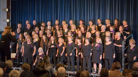 The Big Sing choir. Pictures: Supplied by Maddie Brunton