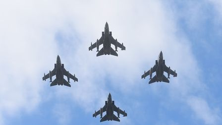 RAF Marham's Freedom of the Borough parade this year will be the last to include a flypast from Torn