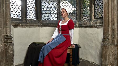 Alice Roberts in Britain's Most Tudor Town, which is set in Norwich (C) Channel 4
