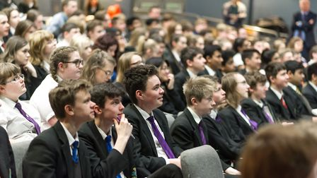Students from seven secondary schools in West Norfolk attended a PiXL conference focussing on Englis