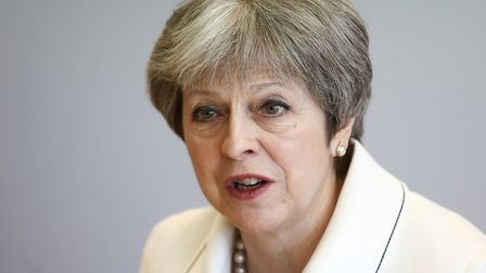 Theresa May faces problems from within her own party if she is defeated in the Commons on the custom