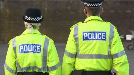 More than 500 assaults were recorded against police officers in Norfolk over the last 12 months. Pho