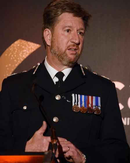 """Chief Constable Simon Bailey said assaults on police are """"unacceptable"""". Picture: DENISE BRADLEY"""