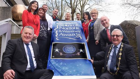 The launch of Stars of Norfolk and Waveney 2018 Awards. Picture: DENISE BRADLEY