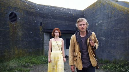 Jessie Buckley as Moll and Johnny Flynn as Pascal in Beast. Photo: Altitude Releasing