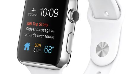 The Apple Watch. Picture: APPLE