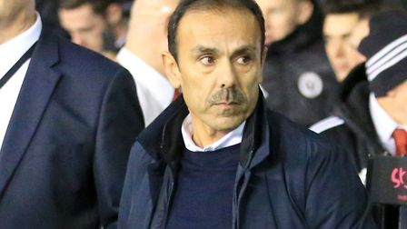 Dutch boss Jos Luhukay replaced Carlos Carvalhal as Sheffield Wednesday managaer in January. Picture