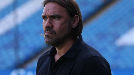 Norwich City head coach Daniel Farke is being linked with the vacancy at Eintracht Frankfurt. Pictur