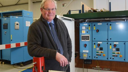 Andrew Pilkington, director of digital delivery at Lintott Control Systems at Bowthorpe, with bespok