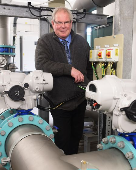 Andrew Pilkington, director of digital delivery at Lintott Control Systems at Bowthorpe, with one of